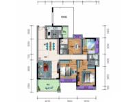 出售一手楼盘沿江半岛4室2厅2卫139平米110万住宅