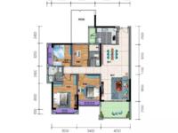 出售一手楼盘威雅 沿江半岛4室2厅2卫133平米105万住宅