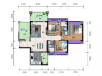 出售一手楼盘威雅 沿江半岛3室2厅2卫120平米95万住宅
