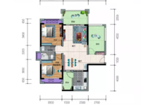 出售一手楼盘威雅 沿江半岛2室2厅1卫96平米77万住宅