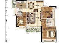 出售一手楼盘海逸半岛3室2厅2卫103平米83万住宅